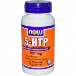 NOW 5-HTP 100mg | 60 vcaps