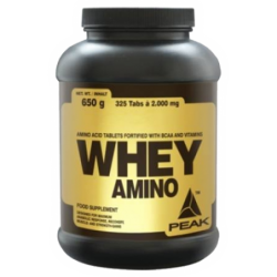 Peak Whey Amino 2000mg | 325 tabs