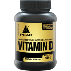 Peak Vitamin D 500mg | 180 tabs