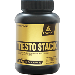 Peak Testo Stack | 60 caps