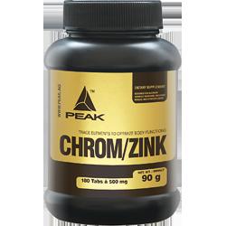 Peak Chrom / Zinc | 180 tabs