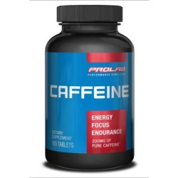 Prolab Caffeine 200mg | 100 tabs