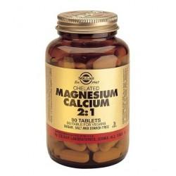 Solgar Chelated Magnesium+Calcium 2:1 | 90 tabs