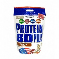 WEIDER Protein 80+ Stand-up Bags | 0.500kg