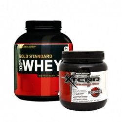 STACK ME: ON 100% Whey Gold Standard 5lb / Scivation Xtend 0.390kg