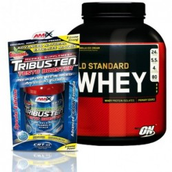 STACK ME: ON Whey Gold Standard 2.272kg / Amix Tribusten