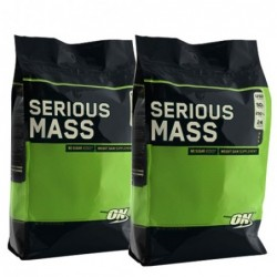 STACK ME: 2 x Optimum Nutrition Serious Mass 5.450kg