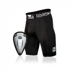 Bad Boy Defender Compression Short & Cup