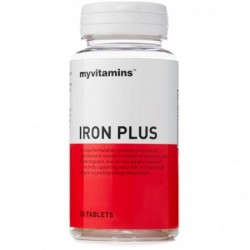 Myvitamins Iron Plus | 30 tabs