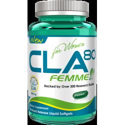 ALLMAX CLA 80 Femme   60 caps