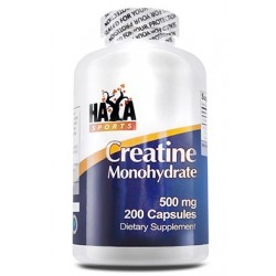Haya Labs Sports Creatine Monohydrate 500mg | 200 caps