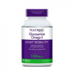 Natrol Glucosamine Omega 3 | 90 softgels