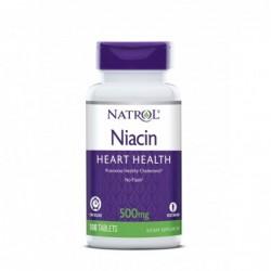 Natrol Niacin Time Release 500mg | 100 tabs