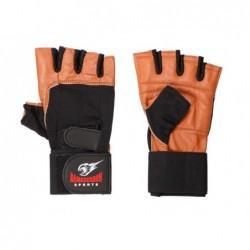 Armageddon Sports Ръкавици с накитници Brown