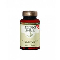 GNC Herbal Plus Licorice Root | 100 vcaps