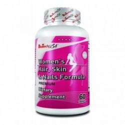 Biotech USA Women`s Hair Skin & Nails Formula | 60 tabs