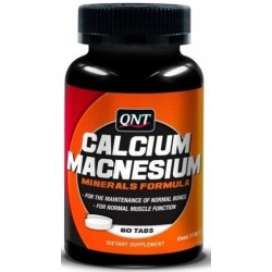 QNT Calcium & Magnesium 60 Tabs. | 60 tabs