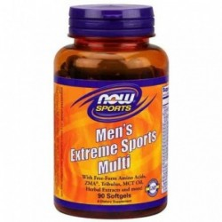 NOW Mens Extreme Sports Multivitamin | 90 softg
