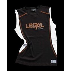 Legal Power Тениска без ръкави - Черна