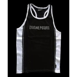 Legal Power Tank Top - Черно и бяло