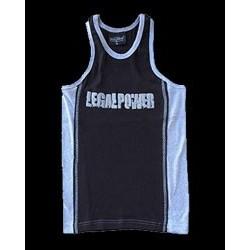 Legal Power Tank Top - Синьо и черно