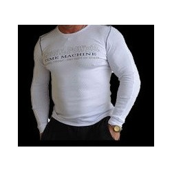 Legal Power Long Sleeve Rib - Time Machine - Бяла