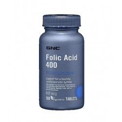 GNC Folic Acid | 100 tabs