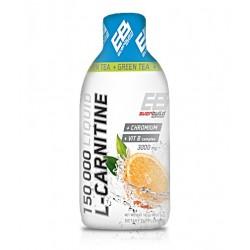 EVERBUILD Liquid L-Carnitine 3000mg + Green Tea | 500ml