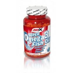 Amix Super Omega-3 Fish Oil   90 sgels