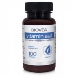 Biovea Vitamin A & D Complex | 100 softg.