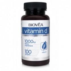 Biovea Vitamin D 1000 IU | 100 softg.