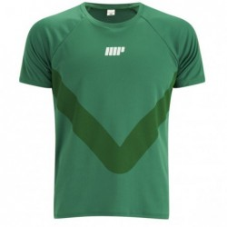 Myprotein Men's Running T-Shirt Зелена