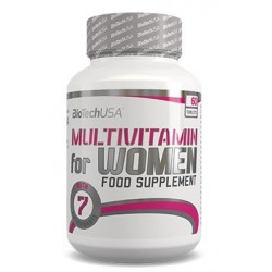 Biotech USA Multivitamin for Women | 60 tabs