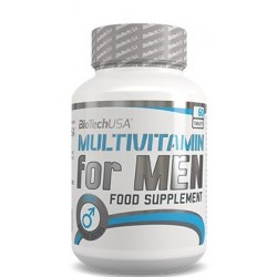 Biotech USA Multivitamin for Men | 60 tabs