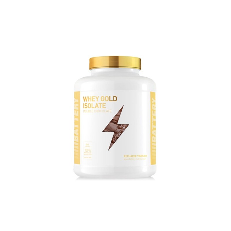 Battery Nutrition Whey Gold Isolate