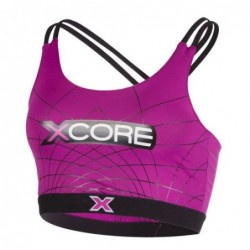 XCORE Nutrition Print Sportsbra Purple