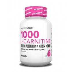 Nutricore 1000 L-Carnitine | 60 tabs