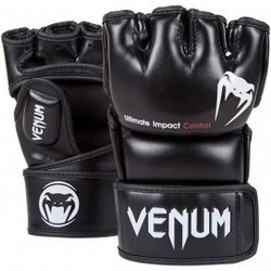ММА РЪКАВИЦИ VENUM IMPACTBLACK - SKINTEX LEATHER