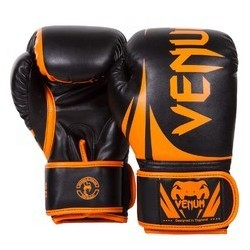 БОКСОВИ РЪКАВИЦИ VENUM CHALLENGER 2.0 BOXING GLOVES - NEO ORANGE/BLACK