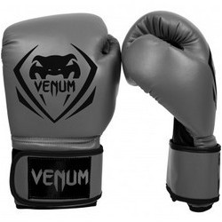 БОКСОВИ РЪКАВИЦИ - VENUM - ELITE BOXING GLOVES - NEO MATTE/BLACK