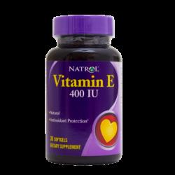 Natrol Vitamin E 400IU | 30 sgels
