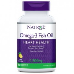 Natrol Omega-3 Fish Oil 1200mg
