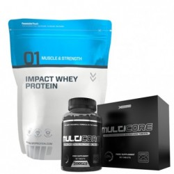 Promo Pack - Myprotein Impact Whey Protein + Prozis Multicore   1.000kg + 90 tabs