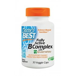 Doctor's Best Fully Active B Complex | 30caps