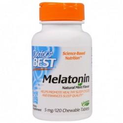 Doctor's Best Melatonin 5mg | 120caps