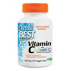 Doctor's Best Vitamin C + Quali C 500mg   120caps