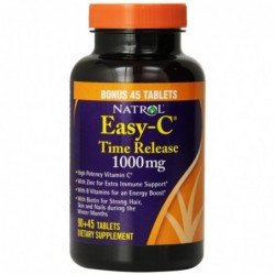 Natrol Easy-C 1000mg Time Release | 90 + 45 FREE tabs