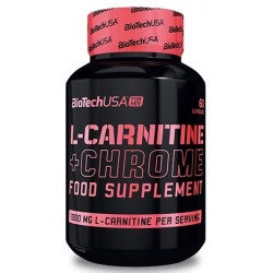 Biotech USA L-Carnitine + Chrome For Her | 60caps