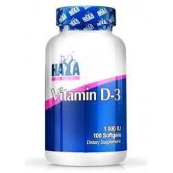 Haya Labs Vitamin D3 1000 IU | 100sgels