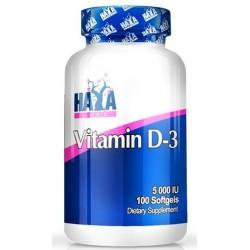 Haya Labs Vitamin D3 5000 IU | 100sgels